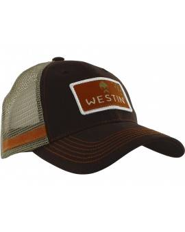 WESTIN HILLBILLY TRUCKER CAP GRIZZLY BROWN