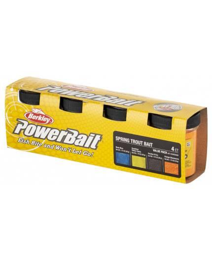 POWERBAIT 4-PACK VALUE Berkley - 2