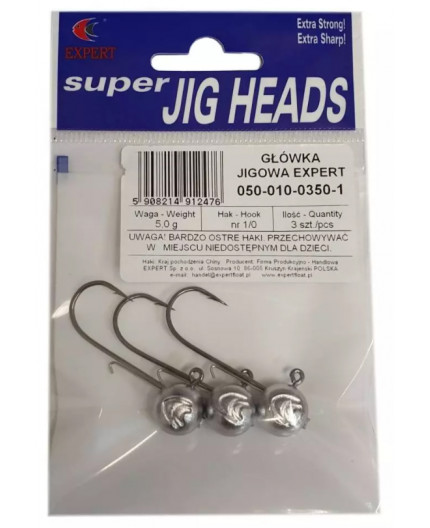 DARTS SLIMLINE JIG HEADS 7,5G Darts - 1