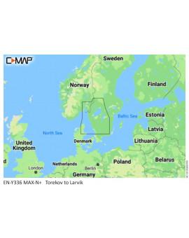 C-MAP M-EN-Y336-MS VÄSTKUSTEN  - 1