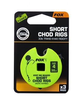 FOX EDGES CHOD RIGS 30LB SIZE4 Fox Rage - 1