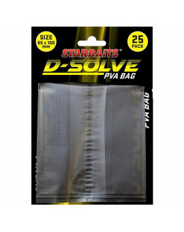 STARBAITS D-SOLVE PVA BAG 25CPS 55X100MM Starbaits - 1