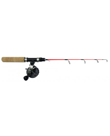 FIBE ICE FISHING COMBO 56CM FLAT ROD-FLY REEL Fibe - 1