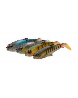 SG CRAFT CANNIBAL PADDLESHAD 10,5CM CLEAR WATER KIT Savage Gear - 1