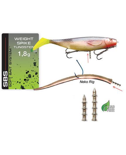 DARTS WEIGHT SPIKE TUNGSTEN 2,2G Darts - 1