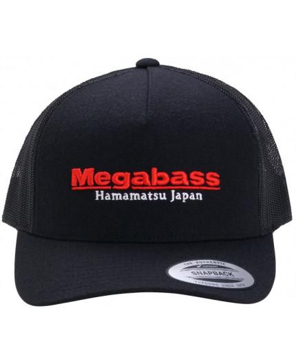 MEGABASS TRUCKER HAT RED LOGO BLACK/RED Megabass - 1