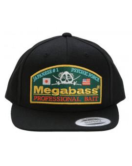 MEGABASS THROWBACK SNAPBACK BLACK Megabass - 1