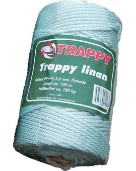 TRAPPY LINAN FLYTANDE 4 MM - 150M  - 1