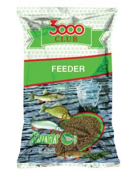 3000 CLUB FEEDER 1KG Sensas - 1