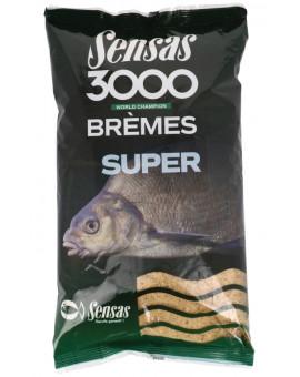 3000 SUPER BREMES 1KG Sensas - 1