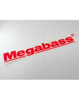 MEGABASS STICKER RED Megabass - 1