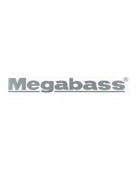 MEGABASS STICKER SILVER Megabass - 1