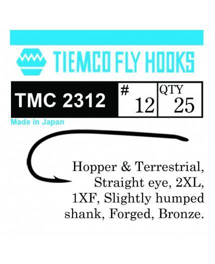 TIEMCO 2312 NYMPH & DRY