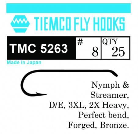 TIEMCO 5263 NYMPH & STREAMER