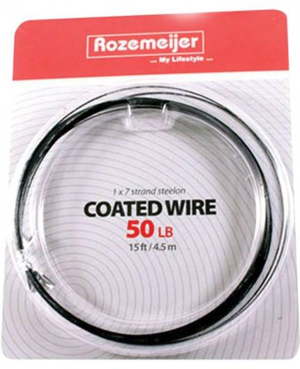 ROZEMEIJER COATED WIRE 50LB