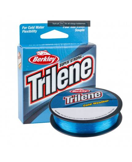 BERKLEY TRILENE ELECTRIC BLUE