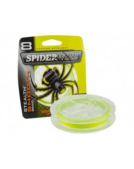 SPIDERWIRE STEALTH SMOOTH 8 HI-VIS YELLOW